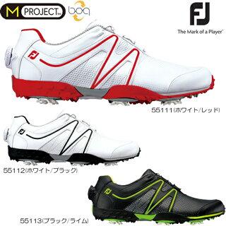 FootjoyフットジョイMPROJECTBoaMプロジェクトボアゴルフシューズ(55111/55112/55113)2017年モデル