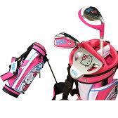 送料無料★ ハローキティ☆HELLO KITTY GO! ゴルフ ジュニアセット (3-5歳用)(右打用) 1601-3-5【ゴルフ】