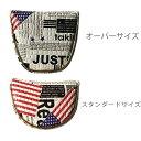 オリジナル USA ランダムデザイン マグネット式 マレットパターカバー 289 【200円ゆうパケット対応商品】【ゴルフ】