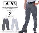 (在庫処分商品)アディダス adidas ゴルフウェア メンズ ゴルフパンツ ロングパンツ メンズ アルティメット ノベルティー フォールウェイト パンツ 大きいサイズ USA直輸入 あす楽対応