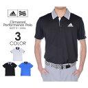 (X'masセール)アディダス adidas ゴルフウェア メンズ メンズウェア CLIMACOOL パフォーマンス 半袖ポロシャツ 大きいサイズ USA直輸入 あす楽対応