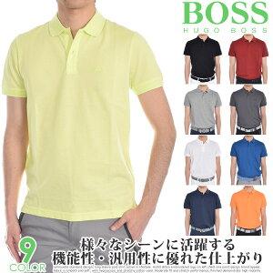 (スペシャル感謝セール)ヒューゴボス HUGO BOSS ゴルフウェア メンズ シャツ トップス ポロシャツ 春夏 おしゃれ メンズウェア ピロ 半袖ポロシャツ 大きいサイズ USA直輸入 あす楽対応