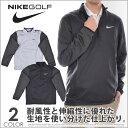 (最終処分フェア)ナイキ Nike ゴルフウェア メンズ 秋冬ウェア 長袖メンズウェア ゴルフ 1/2ジップ シールド 長袖プルオーバー 大きいサイズ USA直輸入 あす楽対応