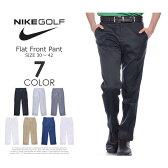 ナイキ ゴルフパンツ メンズ パンツ ボトム メンズウェア フラット フロント パンツ 大きいサイズ