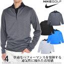 ナイキ Nike ゴルフウェア メンズ おしゃれ 秋冬ウェア 長袖メンズウェア ゴルフ Dri-FIT ハーフジップ コア 長袖プルオーバー 大きいサイズ USA直輸入 あす楽対応