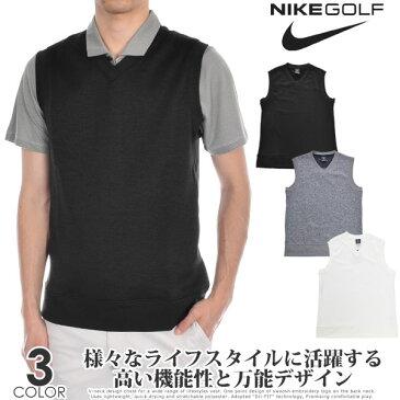 (スペシャル感謝セール)ナイキ ゴルフウェア メンズ おしゃれ 秋冬ウェア ゴルフベスト Dri-FIT セーター ベスト 大きいサイズ USA直輸入 あす楽対応