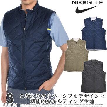 ナイキ NIKE ゴルフウェア メンズ おしゃれ 秋冬ウェア ゴルフベスト リバーシブル シンセティック フィル ベスト 大きいサイズ USA直輸入 あす楽対応