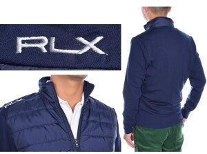 ポロゴルフラルフローレン長袖ブルゾンメンズウエアRLXクールウールナイロンフルジップ長袖ジャケット大きいサイズ