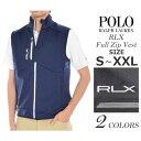 (在庫処分)ポロゴルフ ラルフローレン ゴルフウェア メンズウェア ゴルフベスト RLX フルジップ ベスト 大きいサイズ あす楽対応 平成最後セール 令和記念