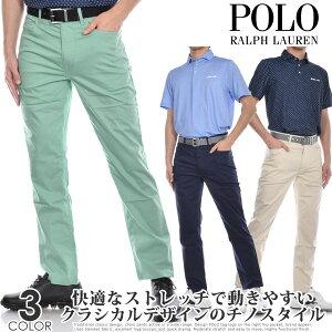 ポロゴルフ ラルフローレン ゴルフパンツ メンズ 春夏 ゴルフウェア メンズ パンツ おしゃれボトム 5ポケット パフォーマンス チノ パンツ 大きいサイズ USA直輸入 あす楽対応