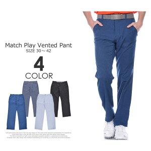 (在庫処分)ゴルフパンツ メンズ 春夏 ゴルフウェア おしゃれ (J・スピース着用モデル)アンダーアーマー UNDER ARMOUR マッチプレー ベント パンツ 大きいサイズ USA直輸入 あす楽対応