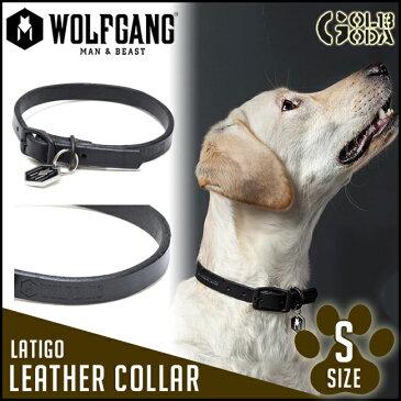 首輪 小型犬用 Sサイズ WOLFGANG MAN&BEAST Latigo LEATHER COLLAR レザー 本革【店頭受取対応商品】