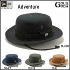 NEWERAADVENTUREHATニューエラアドベンチャーハット帽子BLACK,TAN,OLIVE,NAVY(正規品)