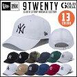 NEWERA ニューエラ 9TWENTY Cloth Strap Washed Cotton ニューヨーク・ヤンキース/ロサンゼルス・ドジャース 帽子 キャップ スナップバック サイズ調節可能スナップバック