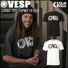 【2014-2015モデル】VESP■LOGOTEE(VPMT14-03)■ベスプ半袖Tシャツ