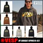 【2014-2015モデル】VESP■NYHOODIE(VPMS14-02)■ベスプパーカー/フード/スエット/スノーボードウェアー/スノボ/スノボー/snowboard