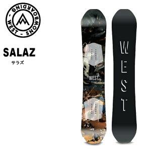 予約 ウエスト WEST SNOWBOARD SALAZ 19-20 ハイブリッド キャンバー パーク スノボ スノボー 板【店頭受取対応商品】