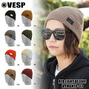 べスプ 18-19モデル VESP RIB LIGHT BEANIE ...