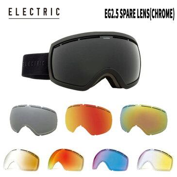 スペアーレンズ ELECTRIC EG2.5 SPARE LENS(CHROME) (JAPAN FIT 国内正規品)スノーボード スノボ スノボー snowboard electric エレクトリック【店頭受取対応商品】