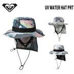 日焼け防止 ハット ロキシー ROXY UV WATER HAT PRT(RSA191752) サーフ SUP 女性用 紫外線UVカットUPF50+ 日焼け対策【SUMMER SALE】