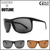 サングラス ELECTRIC エレクトリック OUTLINE OL15 MATTE BLACK / TORTOISE