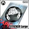 ステッカー CRAB GRAB STICKER Lサイズ クラブグラブ メール便対応