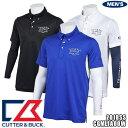 カッター&バック 3WAYシャツ 半袖ボタンダウン ポロシャツ 長袖インナーシャツ セットアップ CGMLJA00W