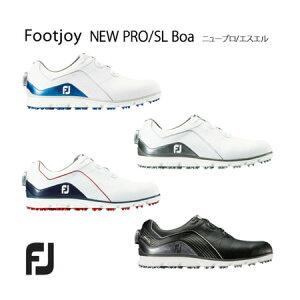 【2018年後期モデル】フットジョイ FOOTJOY NEWプロSLボア メンズゴルフシューズ PRO SL BOA