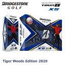 【数量限定品】【USモデル】 ブリヂストンゴルフ TOUR B XS 2020年モデル タイガーウッズ エディション ゴルフボール 1 ダース [12球入り]・・・