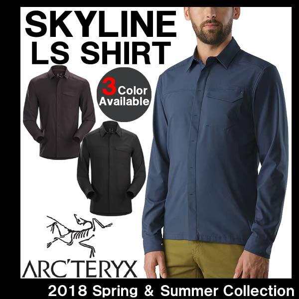 トップス, カジュアルシャツ 202020328()10:0031()09:59 ARCTERYX SKYLINE LS SHIRT 19065