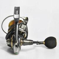 【送料無料】ゴメクサスパワーハンドルノブ38mmEVA製シマノShimanoTypeAダイワDaiwaTypeSリール用冬釣り対応カスタム交換ナスキーツインパワーXD18フリームスLT用Gomexus