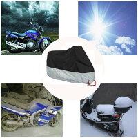 メーカー保証付き バイクカバー バイク レインカバー 防水カバー 防水 防盗 UVカット 原付 スクーター 飛ばない 丈夫 鍵穴付き