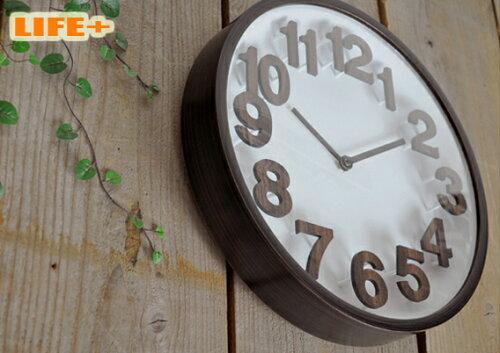 遊び心のあるシンプルモダン壁掛け電波時計 -GRETIA-