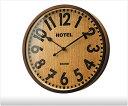 【送料無料】 木製壁掛け電波時計 -Baum arbre- 【電波時計|壁掛時計|掛け時計|電…