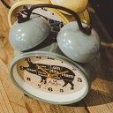 誕生日プレゼント かわいい目覚まし時計 -Meat Cuts- [めざまし時計 珍しい時計 オシャレ 可愛い おしゃれ ラッピング こども 子供 アイボリー ウシ うし お洒落 レア アラームクロック デザイン時計 誕生日プレゼント ギフト 牛 ユニーク レッド赤色 グレー ブラック黒色