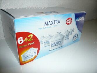 ブリタカートリッジマクストラ8個ボーナスパック増量中8個8P