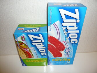 【Ziploc】ジップロックサンドフリーザー54枚-38枚