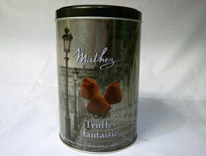 ココアパウダーをまぶしたトリュフチョコレート。大人も楽しめるチョコレートです。 !【1缶】...