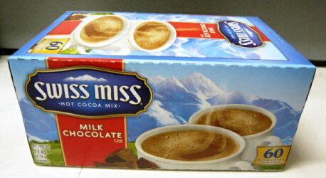 スイスミスミルクチョコレートスイスミスミルクチョコレートホットココアミックス28gx60袋SWISSMISSHotCocoaMix