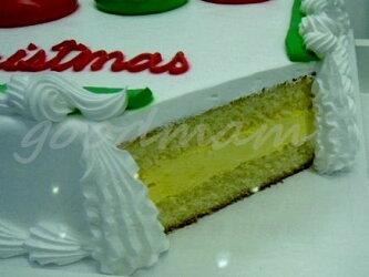 オーダーケーキデザインが選べるハーフシートケーキ(ホワイト・チョコ)48人分約42x33cm/パーティーに最適/コストコベーカリー【送料別】【冷凍発送】【代引不可】【コストコ通販】