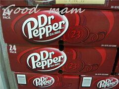 【3箱まで1梱包】【訳あり】【アメリカ産】 ドクターペッパー 355mlx 24缶 / Dr. Pepper 炭酸...