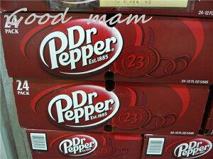 【3箱まで1梱包】再入荷【訳あり】【アメリカ産】 ドクターペッパー 355mlx 24缶 / Dr. Pepper...