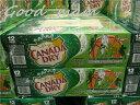 【3箱まで1梱包】【アメリカ産】 ジンジャーエール カナダドライ  355mlx 24缶 / CANADA DR...