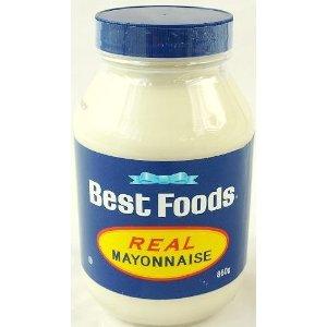 大瓶入りで酸味がなくクリーミーBest Foods ベストフーズ マヨネーズ 860g REAL MAYONNAISE...