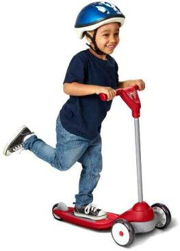 【送料無料】RADIO FLYER MY 1st SCOOTER SPORT #537A ラジオフライヤー スクーター キックボード キックスクーター 安定感 安全性 フットブレーキ コントロール ハンドル 使いやすい おもちゃ 乗り物 遊び 公園【コストコ通販】
