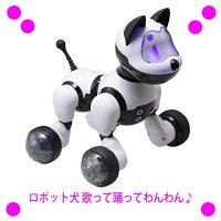 ★ロボット犬歌って踊ってわんわんRI-W01送料無料!★15種の合言葉を理解し、声や仕草で反応してくれ、歌を歌ったり、ダンスをしたり?プレゼントにも最適?【あす楽対応】