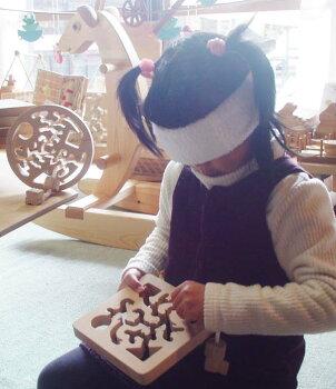 動物迷路日本グッド・トイ委員会認定おもちゃ選定玩具木のおもちゃ知育玩具銀河工房動物迷路バリアフリー
