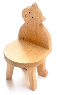 Birthday baby gift 0 years old 1 year old 2 years old 3 years old 0 years old 1 year old 2 years old 3 years old barrier-free baby toy made in toy Japan of the chair miniature furniture child furniture tree of cat