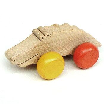 人のよいワニ木のおもちゃ知育玩具銀河工房押し車おしゃぶりガラガラ赤ちゃんベビー積木ブロック子供家具こどもつみきプルトイおしぐるま