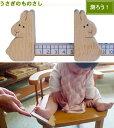 【名入れ可】●うさぎのものさし 日本製 赤ちゃん おもちゃ 木のおもちゃ 1歳 プレゼント ランキング 2歳 3歳 出産祝いギフト はがため 歯がため おしゃぶり カタカタ がらがら カタカタ ラトル 男の子&女の子 日本製 誕生日